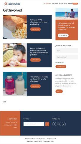 advocacy website