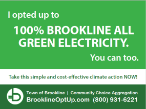 Brookline Green Lawn Sign image