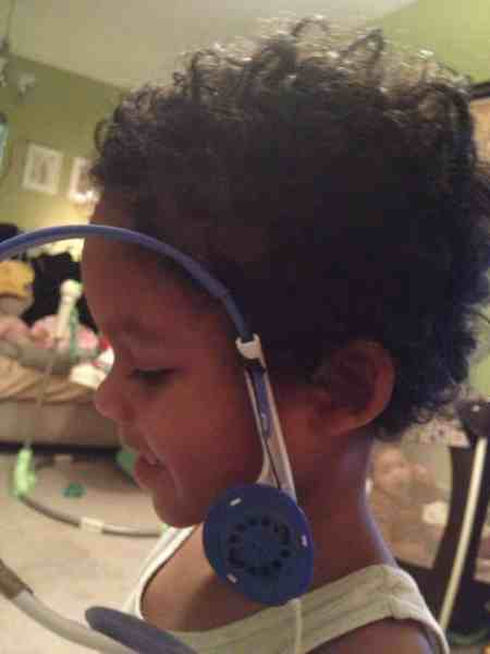 Wordless Wednesday: Hanging Headphones