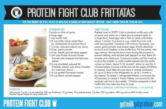 Protein Fight Club Frittatas