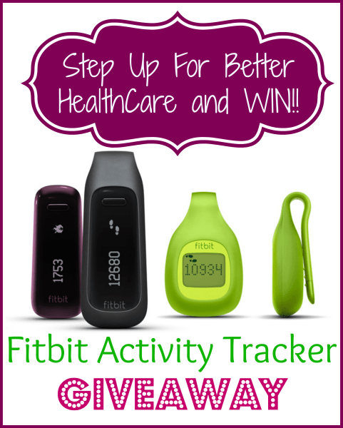 win a fitbit activity tracker