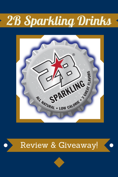 2b Sparkling Drinks Review & Giveaway