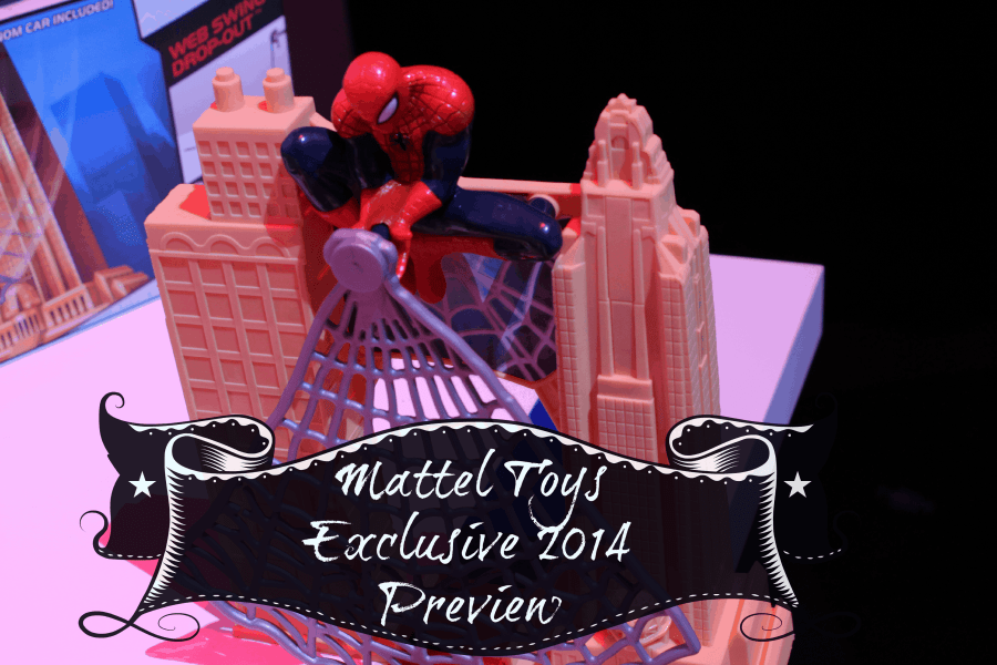 Mattel Must See Toys from Toy Fair 2014 #wannaplay