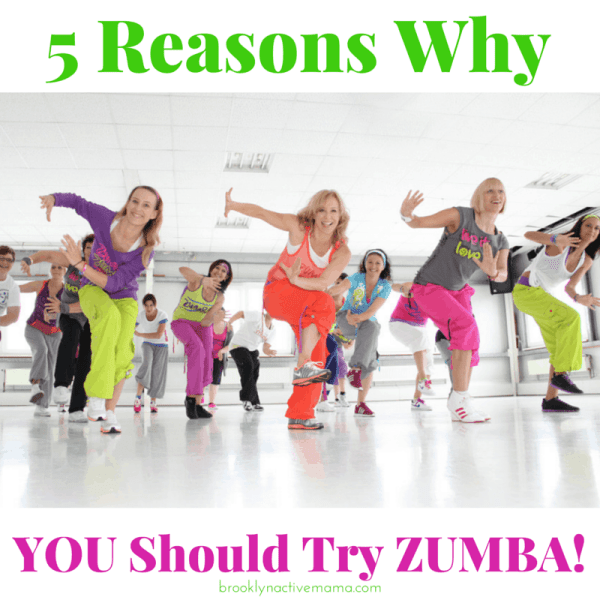 Top 5 Reasons Why You Should Try Zumba!