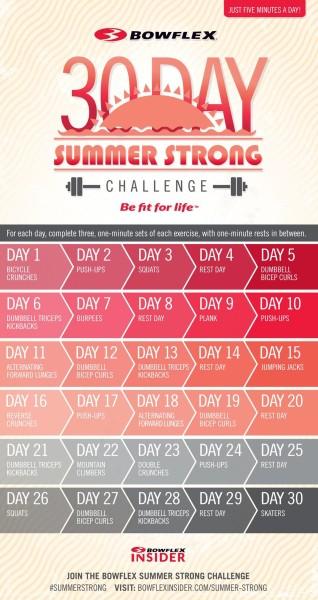 Bowflex Summer Strong Challenge