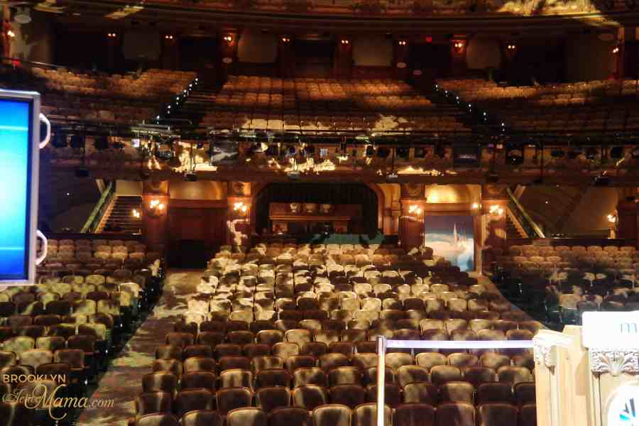 new amsterdam theatre view from the stage