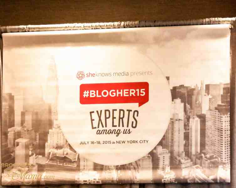 #BlogHer15 NYC – Experts Among Us Recap: Day 1