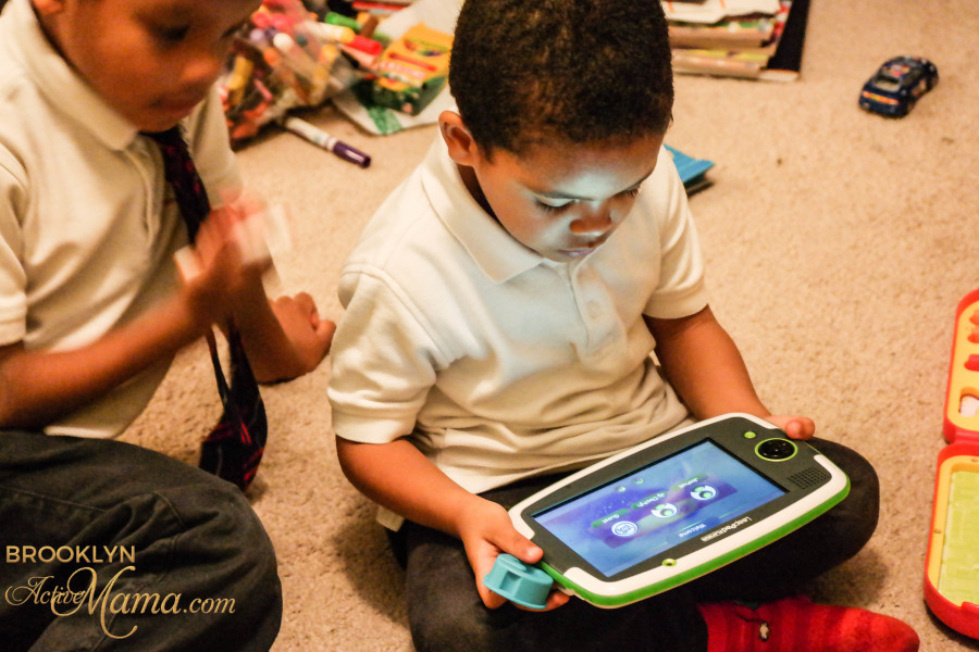 LeapPad Platinum, ImagiCard & Word Whammer Mom Review-9638