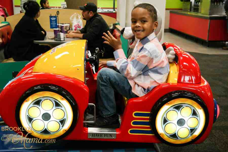 Birthday Party at Chuck E. Cheese