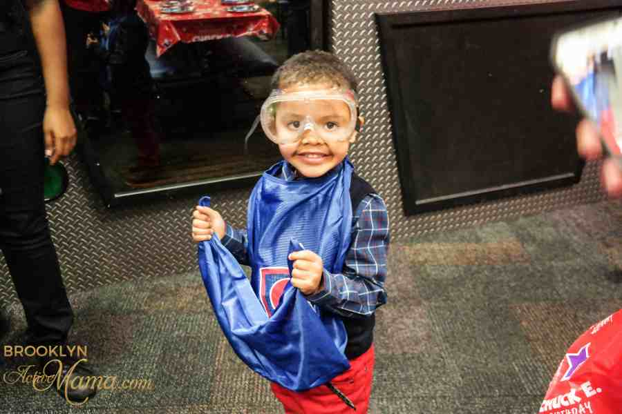 Birthday Party at Chuck E. Cheese-2191