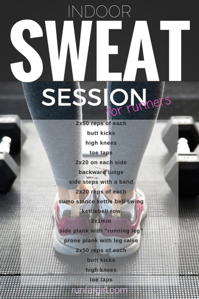 Indoor Sweat Session for Runners-RunFarGirl