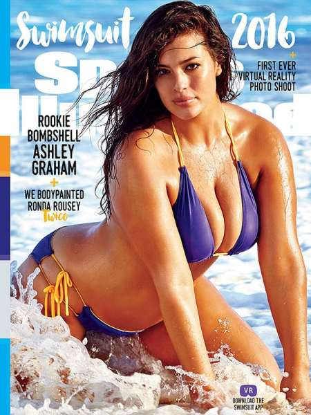 Size 16 Model Ashley Graham Stuns On Cover Of Sports Illustrated