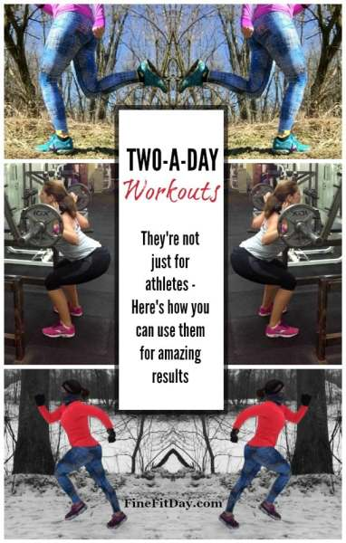 two-a-day workout pin