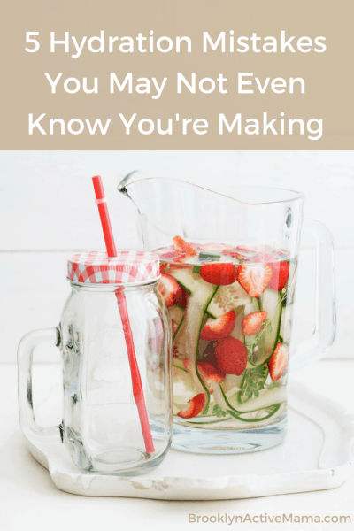 How do you know when you are fully hydrated? Did you know that most people walk around AT LEAST 1% dehydrated and that can affect everything from brain function to alertness! Kate Geagan, America's Favorite Nutritionist shares 5 Hydration Mistakes You May Not Even Know You're Making