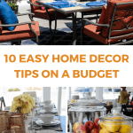 10 Easy Home Decor Tips On a Budget