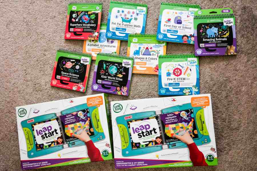 LeapStart Activity Center is the Perfect On The Go Learning Tool!