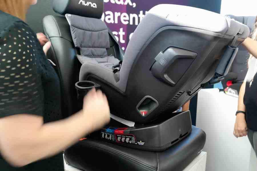 Nuna's Grand Reveal Of New Carseat Line Was Totally Worth The Wait