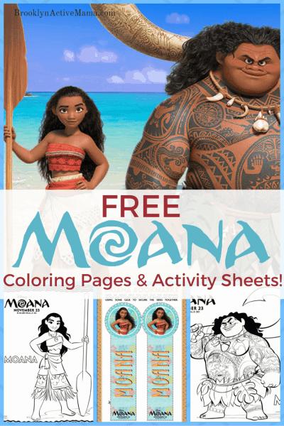 Why I Am Obsessed With Disney's Moana + Free Moana Movie Printables!