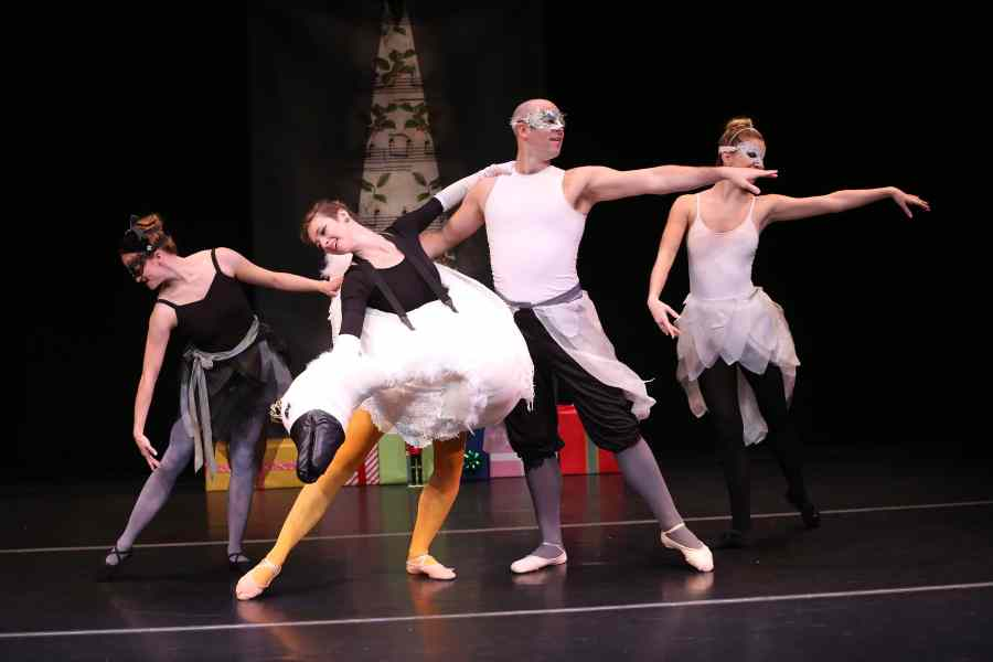 New York City Christmas Family Fun: Ballerina Swan & The Nutcracker