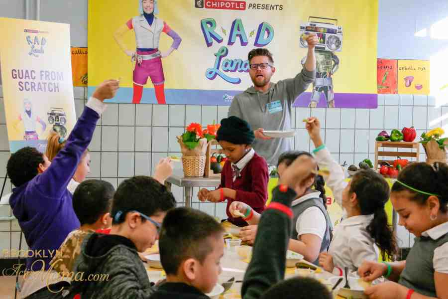 "Chipotle Debuts ""Rad Lands"" Teaching Kids How To Eat Healthy!"