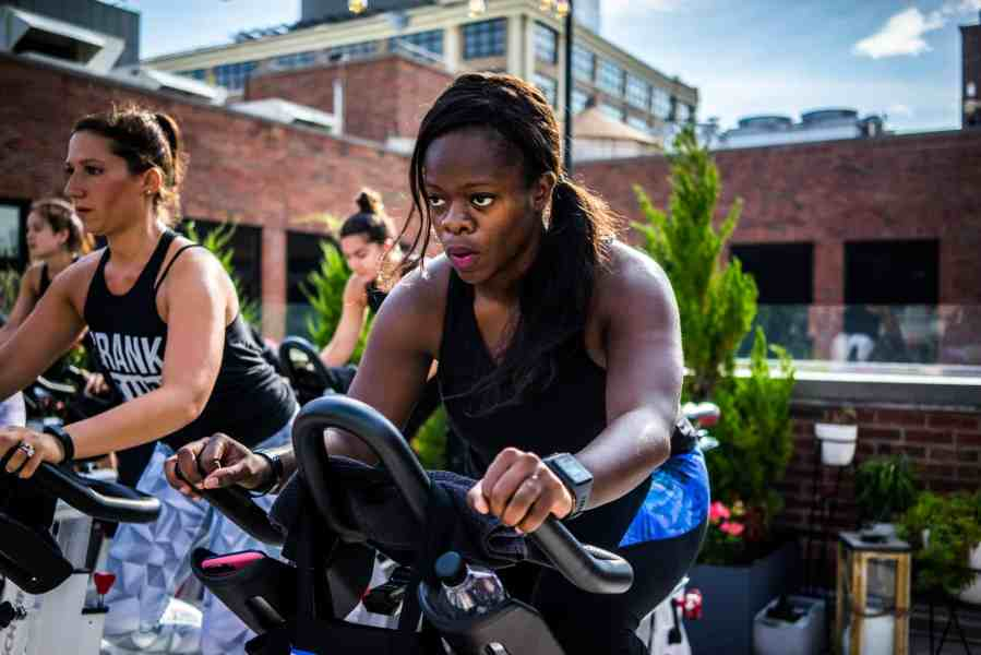 On Top Of The World: A Rooftop Spin Class With CrankNYC
