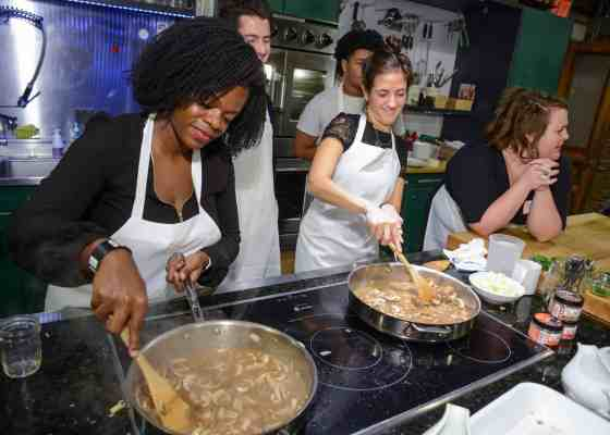 A Friendsgiving Cooking Class With BOU at the Brooklyn Kitchen