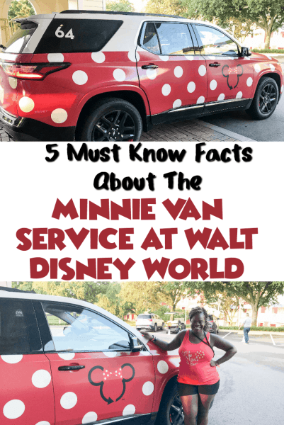 Have you tried the new Minnie Van service is Walt Disney World that takes you all over the resorts and even to the airport? Check out these 5 Must now facts about the Minnie Van Service at Walt Disney World! #disney #disneytips