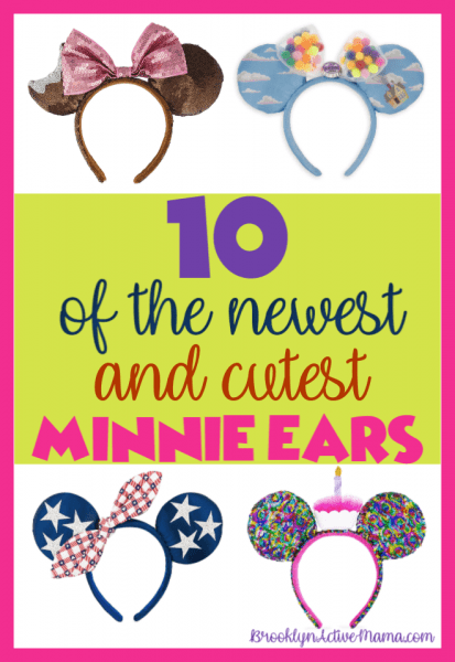 Minnie Ears are so cute and they are insanely popular. It's so cool because more than ever before these decorative hair bands come in so many neat styles and personalities. There are A TON to choose from, but these are ten of the latest and greatest Minnie Mouse Ears.