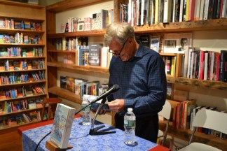 James Whitfield Thomson and Kimberly McCreight Reading at Court Books 11/20/2013 - Brooklyn Archive