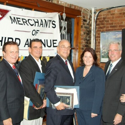 Merchants of Third Avenue Pioneer Awards Dinner 10/28/2008 - Brooklyn Archive