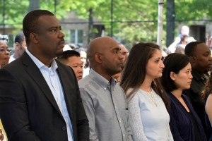 Old Stone House: Immigrant Naturalization Ceremony 06/03/2015 - Brooklyn Archive