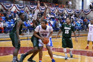 St. Francis College vs. Wagner College Men's Basketball Game 02/01/2014