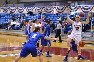 St. Francis College vs. Central Connecticut College Women's Basketball Game 02/01/2014