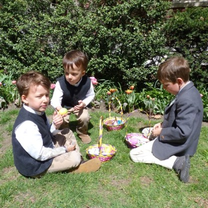 Easter Egg Hunt at Plymouth Church 2012 - Brooklyn Archive