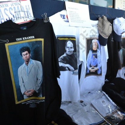 Seinfeld memorabilia for sale at MCU Park. - Brooklyn Archive