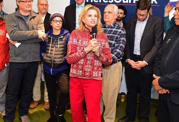 U.S. Rep. Carolyn Maloney of the 12th District. - Brooklyn Archive