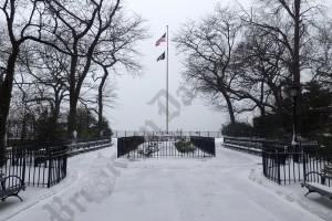 Scenes from Brooklyn Heights during Winter Storm Stella 03/14/2017