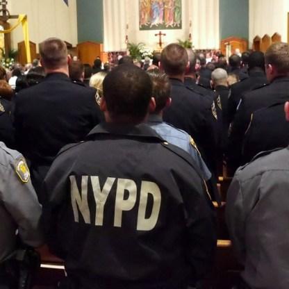 Patrol Borough Brooklyn South Memorial Mass 05/22/2017 - Brooklyn Archive