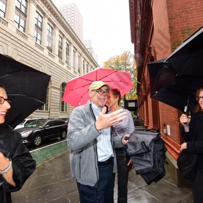 Brooklyn Historical Society New Historic District Plaque Unveiling 10/21/2016 - Brooklyn Archive