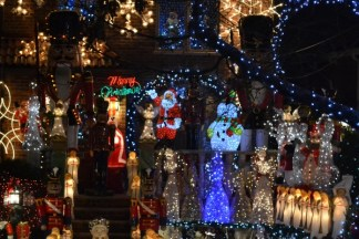 Dyker Heights Christmas Lights 12/05/2013