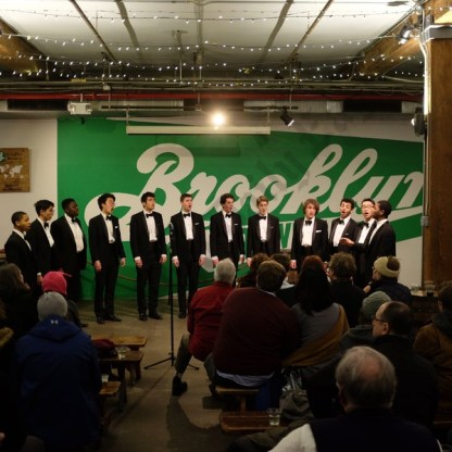 Harvard Krokodiloes at Brooklyn Brewery 01/06/2018 - Brooklyn Archive