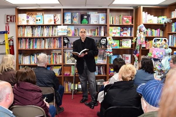 John Alexander Book Reading 04/16/2018 - Brooklyn Archive