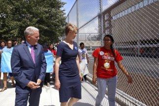 Nixon Campaigns in Corona Queens 07/24/2018 - Brooklyn Archive