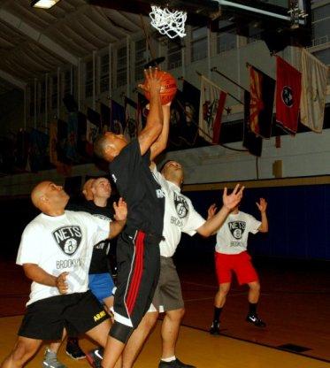 Nets Coach Basketball At Army Base Fort Hamilton 11/13/2017 - Brooklyn Archive