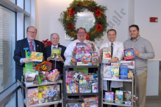 Toys for Tots at Coney Island Hospital 12/18/2018 - Brooklyn Archive
