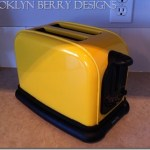 DIY Yellow Toaster