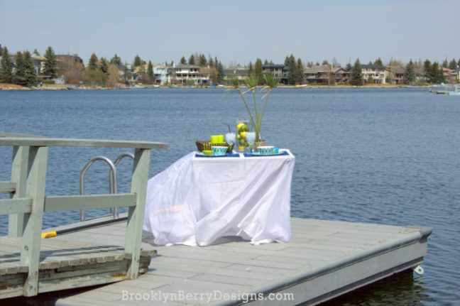 Outdoor Dining Tablescape