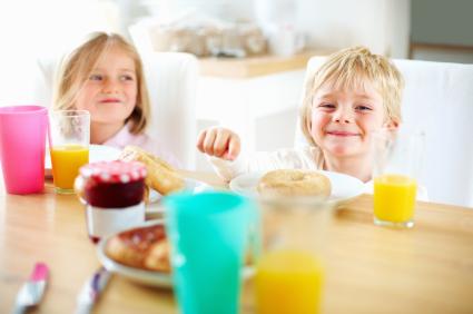 kids fun breakfast