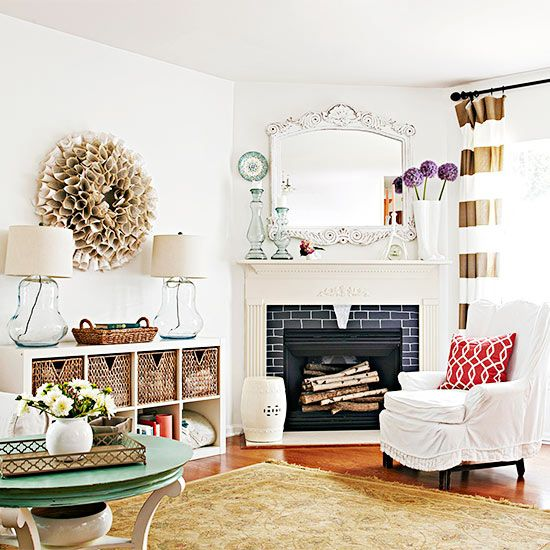 Arranging Furniture With A Corner Fireplace Brooklyn Berry Designs