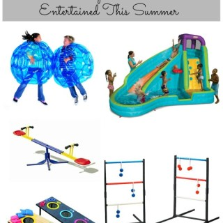 Entertaining Kids With Backyard Toys